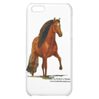 iPhone4 Case, Red Peruvian Paso iPhone 5C Covers