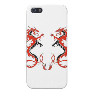 iPhone4-Double Dragon Red and Black iPhone 5/5S Covers