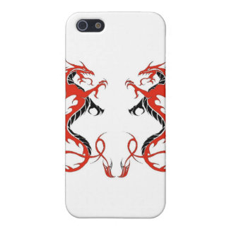 iPhone4-Double Dragon Red and Black iPhone 5 Covers