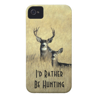 iPhone4 Masculine White Tail Mule Deer Buck Doe Case-Mate iPhone 4 Cases