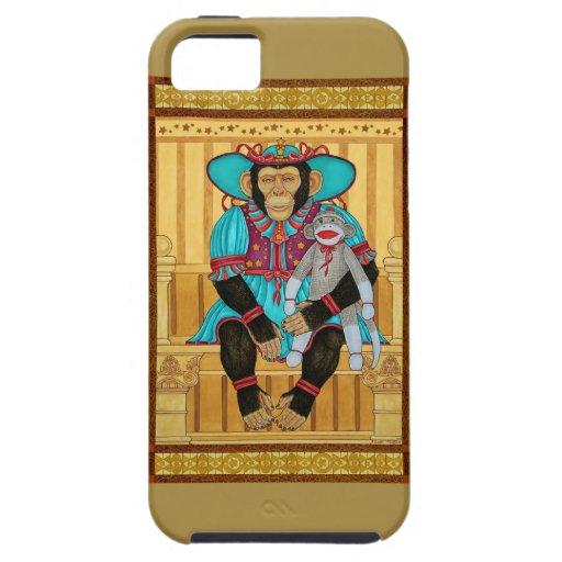 iphone5/5s case, chimp art by Zeek Taylor iPhone 5 Case