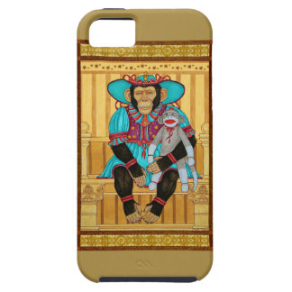 iphone5/5s case, chimp art by Zeek Taylor iPhone 5 Covers