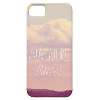 Iphone5  Case ..... Adventure Awaits