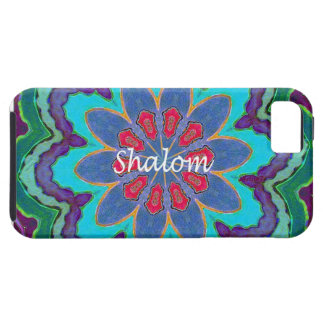 iPhone5 Case Mate Vibe Shalom Mandala iPhone 5 Covers
