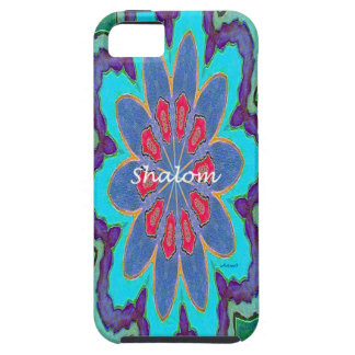 iPhone5 Case Mate Vibe Shalom Mandala V iPhone 5 Case