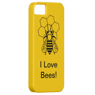 iPhone5 CM/BT - I love Bees! iPhone 5 Cover