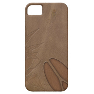 iPhone5 Masculine Deer FootPrint Leather Look iPhone 5 Cover