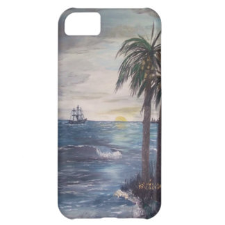 iphone5 Ship on the Horizon-Gulf  Beach ART Case For iPhone 5C