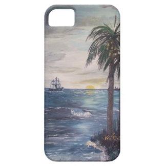 iphone5 Ship on the Horizon-Gulf  Beach ART iPhone 5 Covers