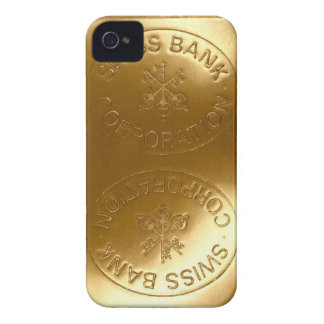 iPhone5 Swiss Bank Gold Bar case Case-Mate iPhone 4 Cases
