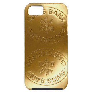 iPhone5 Swiss Bank Gold Bar case Case For The iPhone 5