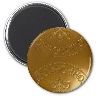 iPhone5 Swiss Bank Gold Bar case Fridge Magnet