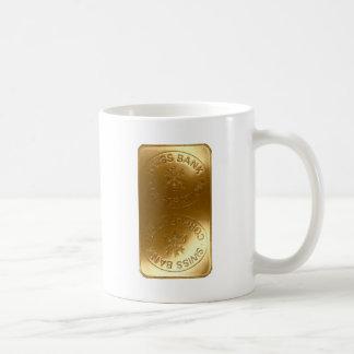 iPhone5 Swiss Bank Gold Bar case Coffee Mugs