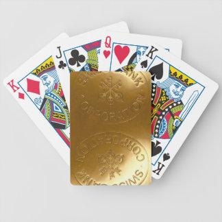 iPhone5 Swiss Bank Gold Bar case Poker Deck