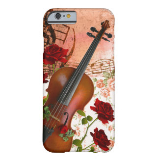 iphone6/6S case violin rose violin