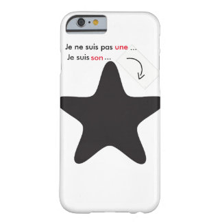 Iphone6/6s hull with quotation barely there iPhone 6 case