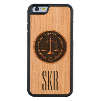 iPhone6 Case - SRF Carved® Cherry iPhone 6 Bumper Case