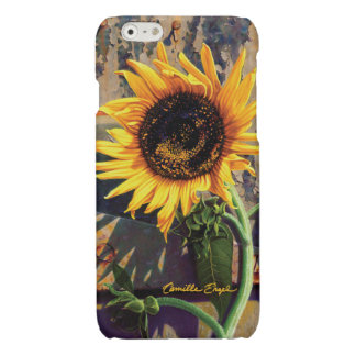 """iPhone6 Case """"Sunflower"""" by Camille Engel iPhone 6 Plus Case"""
