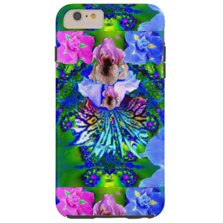 IPHONE6-GALAXY S6- ORCHID DREAMS TOUGH iPhone 6 PLUS CASE