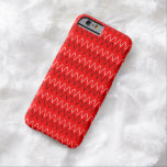 iphone6 Red and white Barely There iPhone 6 Case