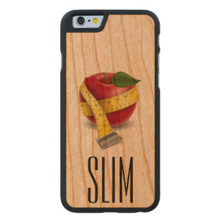 iPhone6 Slim Apple Case - SRF Carved® Cherry iPhone 6 Case