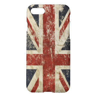 iPhone7 case with flag of Britain