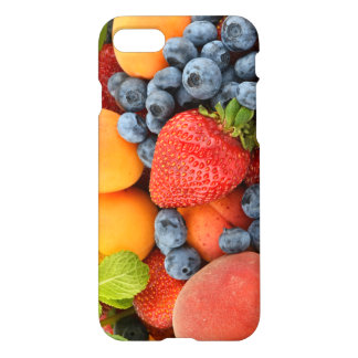 iPhone7 case with fresh and healthy fruits.