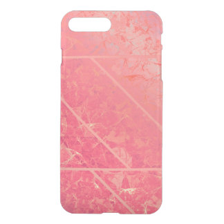 iPhone7 Plus Case Pink Marble Texture