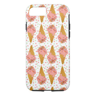 iPhone7 Tough Case - Ice Cream Cones and Sprinkles