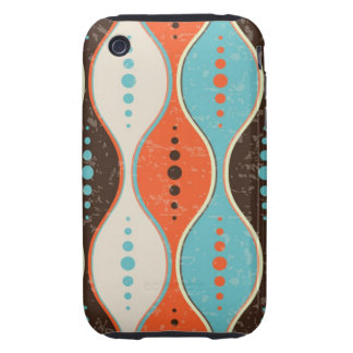iPhone 3 Case seamless retro pattern