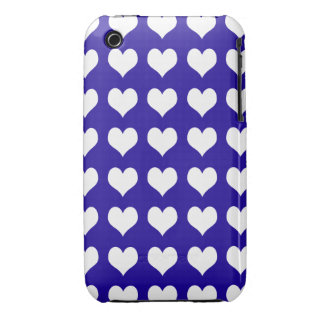 iPhone 3G/3GS Barely There Case Blue Hearts Case-Mate iPhone 3 Cases