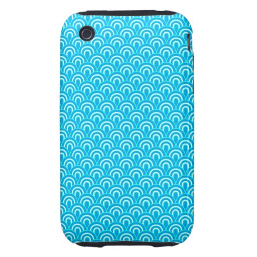 iPhone 3G/3GS Case Fabric Texture Retro Style iPhone 3 Tough Case