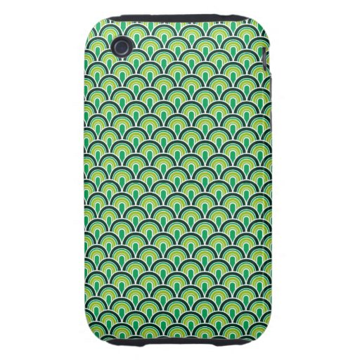 iPhone 3G/3GS Case Fabric Texture Retro Style iPhone 3 Tough Cover