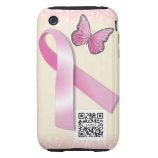 iPhone 3G/3Gs Case Template Breast Cancer Support Tough iPhone 3 Covers