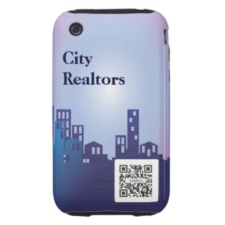iPhone 3G/3Gs Case Template City Realtors Tough iPhone 3 Covers
