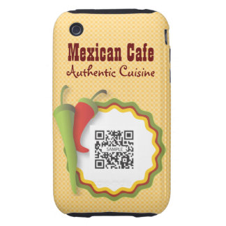 iPhone 3G/3Gs Case Template Mexican Food Tough iPhone 3 Covers