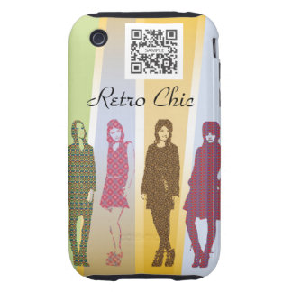 iPhone 3G/3Gs Case Template Retro Fashions