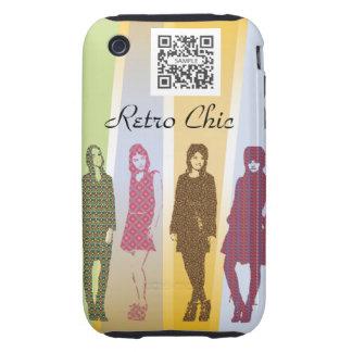 iPhone 3G/3Gs Case Template Retro Fashions iPhone 3 Tough Case