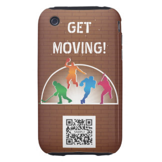 iPhone 3G/3Gs Case Template School Athletics iPhone 3 Tough Covers