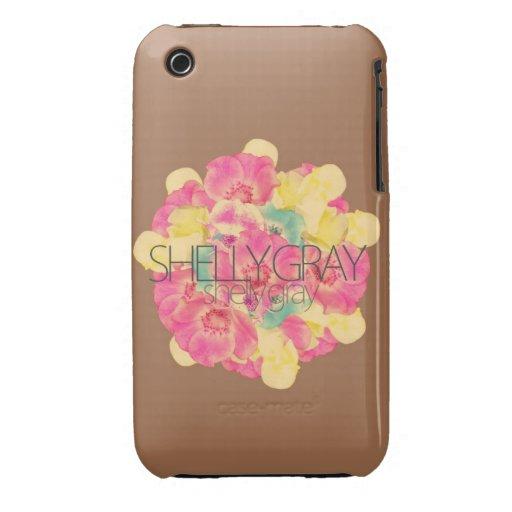 iPhone 3G/3GS Flower Burst Case iPhone 3 Case-Mate Cases