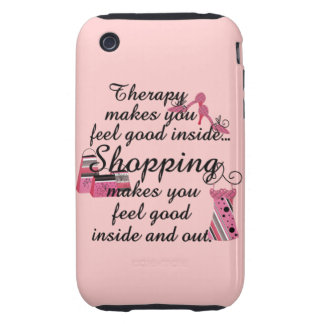 iPhone 3G/3GS Shopping Therapy Case iPhone 3 Tough Case