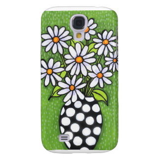 iPhone 3G case Green Daisies Galaxy S4 Case