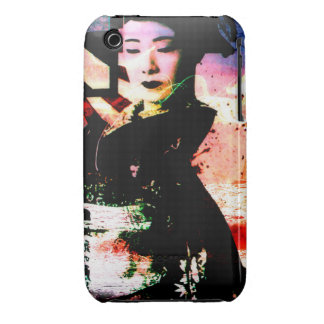 "iphone 3G/*Gs covering ""mysterious geisha "" Case-Mate iPhone 3 Case"
