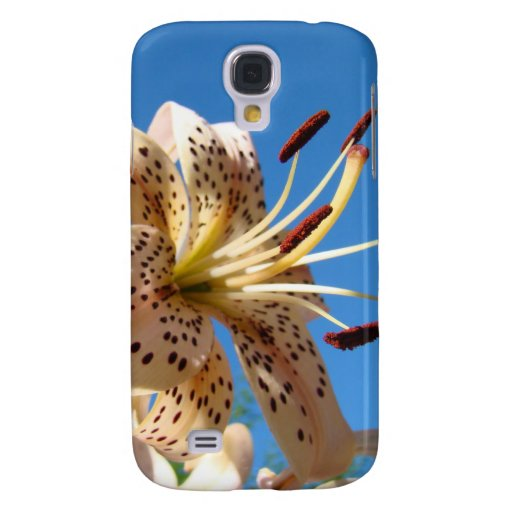 iPhone 3G phone cases Lily Flowers Blue Sky Samsung Galaxy S4 Cases