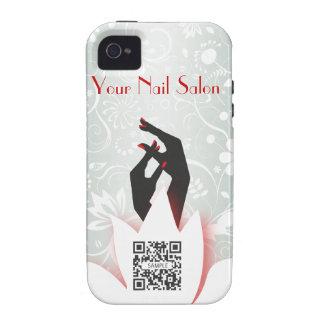 iPhone 4/4s Case Template Nail Salon