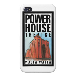 iPhone 4/4s case with Power House Theatre logo