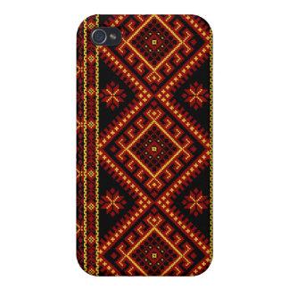 iPhone 4 / 4S Fabric Print Case Ukrainian Print