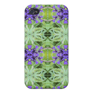 iPHONE 4/4S hard speck case  in Greens and Blues iPhone 4/4S Cover