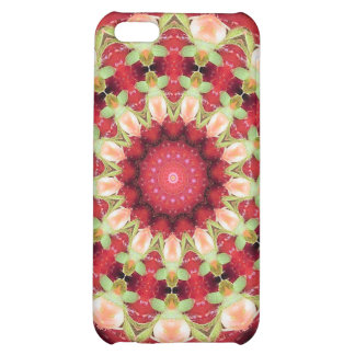 iPHONE 4/4S HARD SPECK CASE  Red Geometric design Case For iPhone 5C