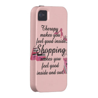 iPhone 4 4S Shopping Therapy Case Vibe iPhone 4 Cases